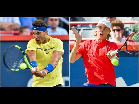 Teenager upset top seed Rafael Nadal in Rogers Cup, denies Nadal the no.1 spot