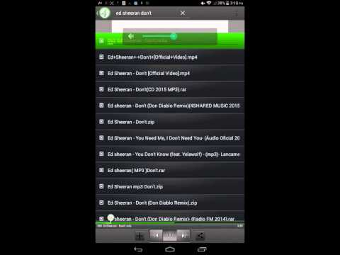 How to download Musics  4shared musics