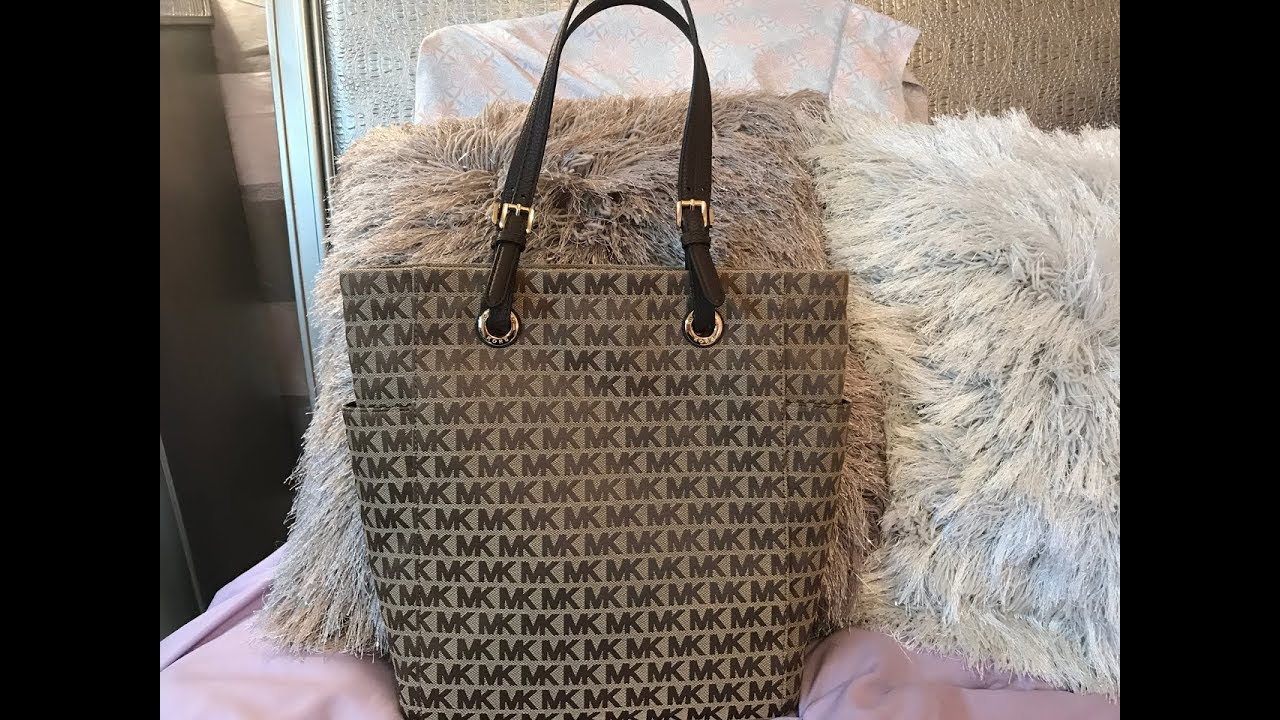 148561e2d8c5 Review on the Michael Kors Jet Set MD NS Tote - YouTube