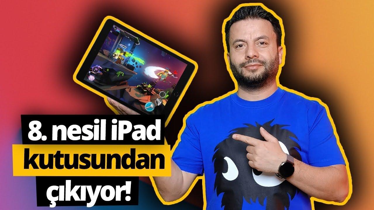 8. nesil iPad kutusundan çıkıyor! - En uygun fiyatlı iPad!