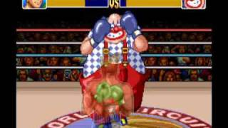 Let's Play Super Punch Out 05 - Heike Kagero - Mad Clown - I LOST LOL HEIKE KAGERO AGAIN