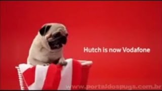 "Vodafone - ""Hutch Is Now Vodafone"" - Inserções Curtas de TV - Propaganda com Pug"