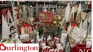 BURLINGTON CHRISTMAS DECOR 2019!!!HOLIDAY EDITION!! SHOP WITH ME|WALK THROUGH!