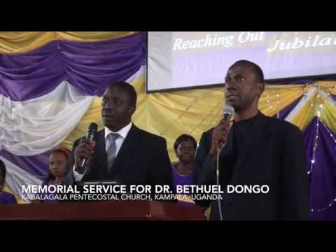 The Funeral Service for Bethuel Dongo
