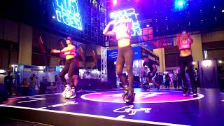 Kangoo Jumps at FitFest 1st Day