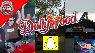 Dollywood & Pigeon Forge Trip Snapchat! (My Full Story)