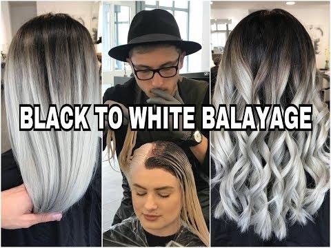 Weißblonde haare