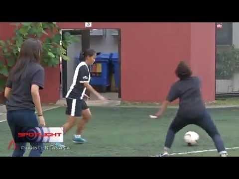 12 July 2015 Spotlight: Women's football - Growing the sport in Singapore