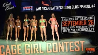 American Battleground Video Blog #4: Cage girl contest