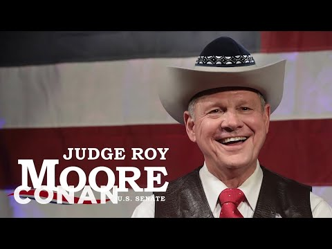 Roy Moore Appeals To Alabama's Jewish Community  - CONAN on TBS