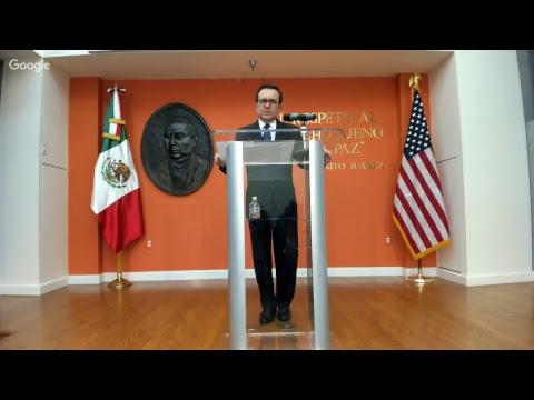 Conferencia de Prensa Secretario  Ildefonso Guajardo