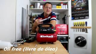 Review Compressor De Ar Einhell TH-AC 190/6 OF