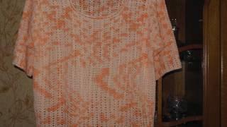 """Обзор """"Одежда для полных дам ручного вязания"""". Приятные мелочи  на заказ по образцам"""