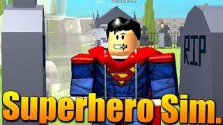 JÁ JSEM SUPERMAN!😱😎 Roblox Superhero Simulator #3