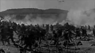 Реальные кадры с поля боя первой мировой войны . Документальная съёмка.