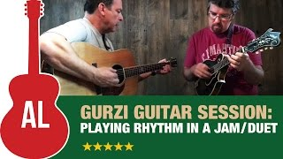 Playing RHYTHM in a Jam or Duet