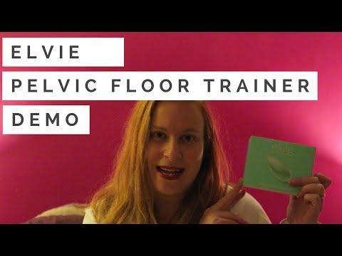 Elvie pelvic floor trainer demo