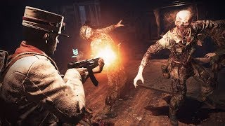 """PLAYER V PLAYER V ZOMBIES?! - CALL OF DUTY: WWII """"HORDEPOINT"""" GAMEPLAY! ATTACK OF THE UNDEAD #2"""