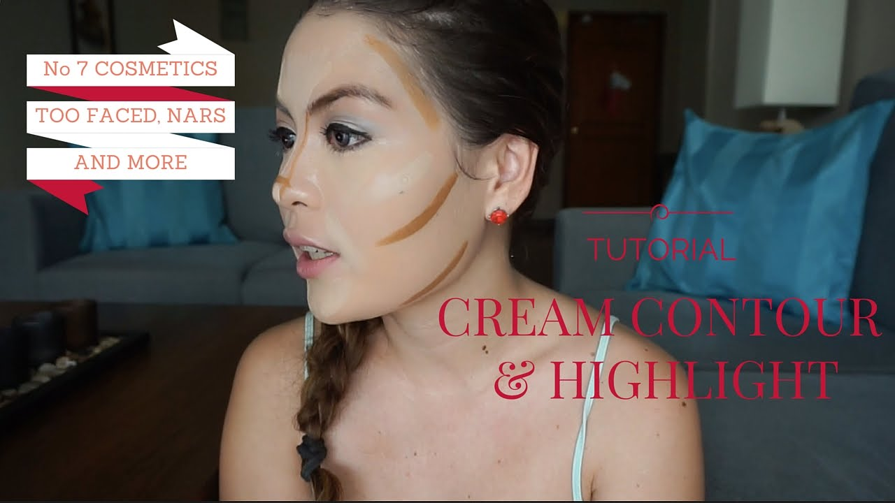Beauty chatty cream contour and highlight tutorial youtube ccuart Images
