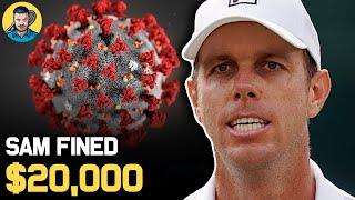 Massive $20K FINE for Tennis Player Querrey | Tennis News