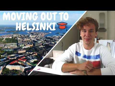 MOVING OUT TO HELSINKI