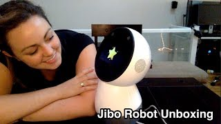 Jibo Unboxing - Sept 22, 2017 (Finally!)