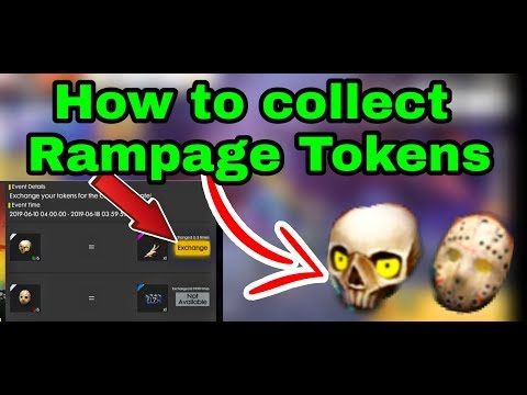 How to collect Rampage tokens Easily in free fire Get Free Emote In telugu
