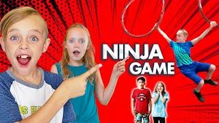 Ninja Obstacle Game with American Ninja Warriors!