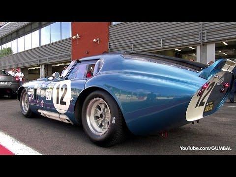 $7.25 Million Shelby Daytona Cobra Coupe - Lovely Exhaust Sounds!