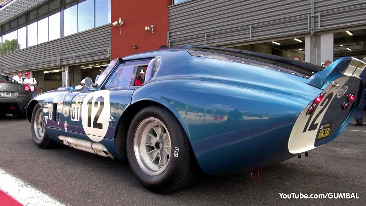 7 25 Million Shelby Daytona Cobra Coupe Lovely Exhaust