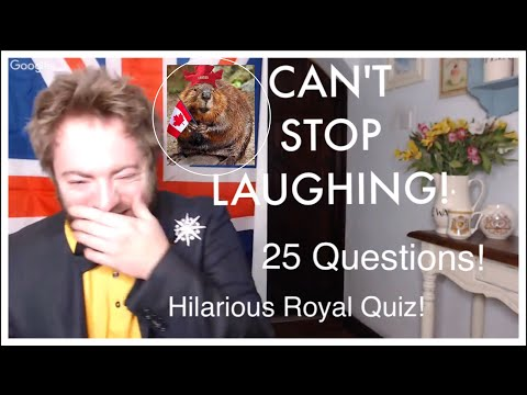 PREGNANT BEAVERS!?!? Take The HILARIOUS Quiz! How Much Do YOU Know About Queen Elizabeth ll ???