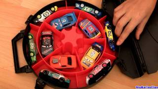 Cars 2 Carry Case Storage Race Launcher Lightyear Tire Snot Rod Diecast Store 10 cars Disney Pixar