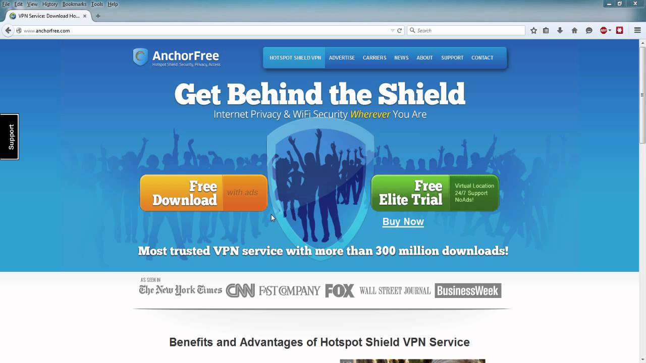 how to disable hotspot shield ads