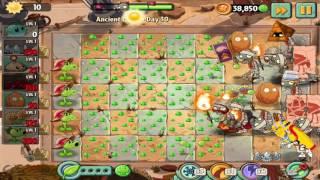 Plants vs Zombies 2: Ancient Egypt Day 30 Walkthrough