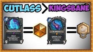 Hearthstone: Cutlass Is The New Kingsbane - Random Rogue