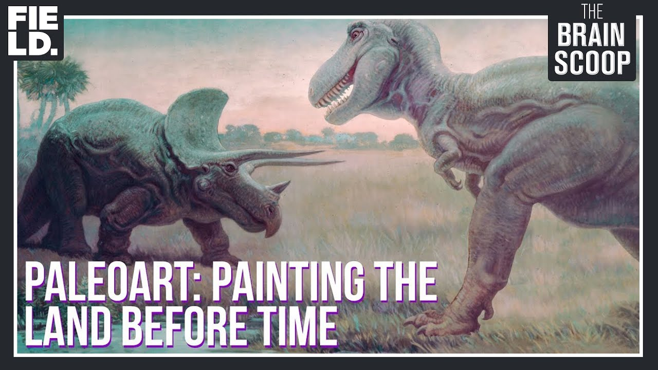 Paleoart: Painting the Land Before Time