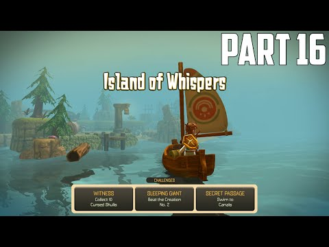 Oceanhorn: Monster of Uncharted Seas - 100% Walkthrough Part 16 [PS4] –  Island of Whispers