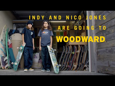 Woodward Bound - The Jones Twins - Skate Camp