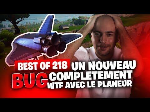 BEST OF SOLARY FORTNITE #218 ► UN NOUVEAU BUG COMPLETEMENT WTF AVEC LE PLANEUR
