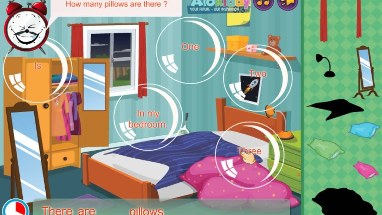 hello felix game unit 12 things in my bedroom 2 learning english for kids