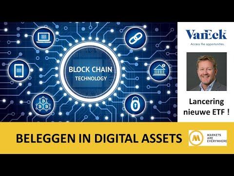 Beleggen in digital assets en blockchain technologie met de VanEck Digital Assets Equity UCITS ETF