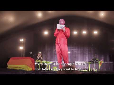 Saga Beckers tal på Pride 2018