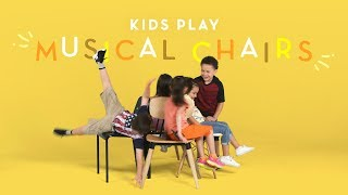 Kids Play Musical Chairs | Kids Play | HiHo Kids