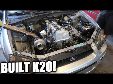 The Hondaru Is Back With a BUILT MOTOR!