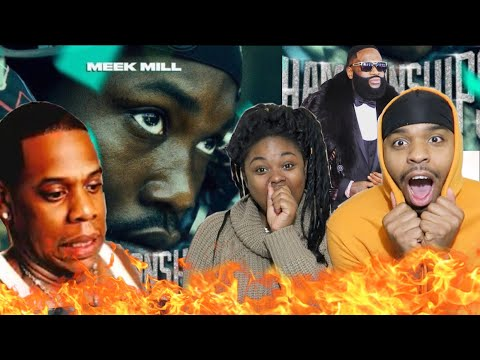 JAY-Z SNAPPED!!! 🔥🔥 | Meek Mill - What's Free feat. Rick Ross & Jay Z [Official Audio] | REACTION!