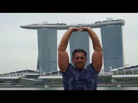 Singapore Marina Bay Sands, infinity Pool,  Skypark...Beautiful Place Night and Day !!