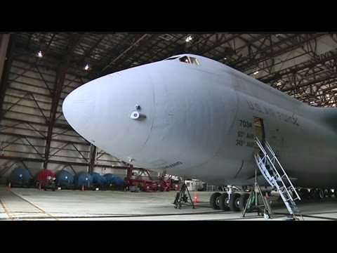 Tour of the C-5 Aircraft