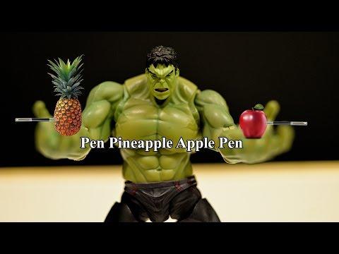 PPAP Pen Pineapple Apple Pen Ft. Hulk ✔