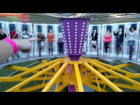 The round up carnival ride onride