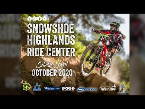 Snowshoe Highlands Ride Center Receives Silver Designation!